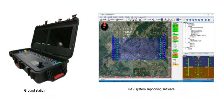 UAV system supporting software